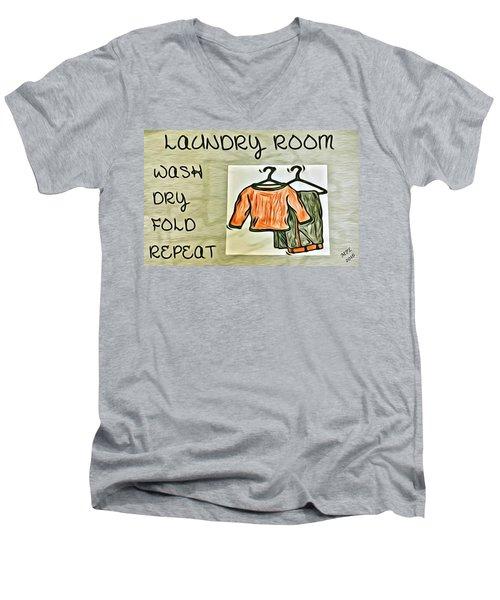 Laundry Room Men's V-Neck T-Shirt
