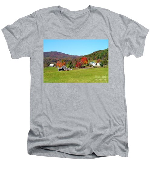 Laura's Farm Men's V-Neck T-Shirt