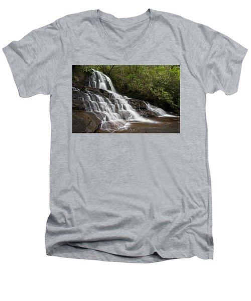 Laurel Falls Men's V-Neck T-Shirt