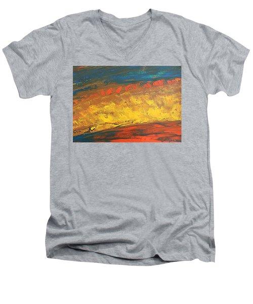 Lava Flow Men's V-Neck T-Shirt