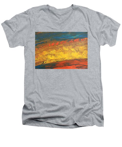 Lava Flow Men's V-Neck T-Shirt