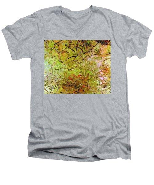 Lava Glass Men's V-Neck T-Shirt
