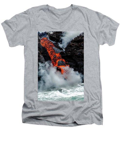 Lava Train Men's V-Neck T-Shirt