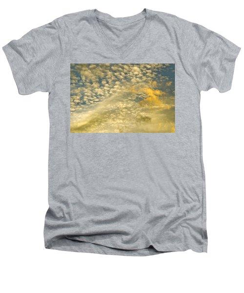 Layers Of Sky Men's V-Neck T-Shirt