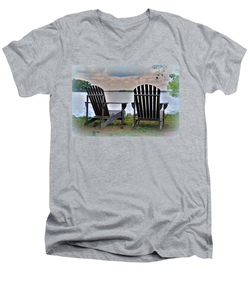 Lazy Afternoon Men's V-Neck T-Shirt