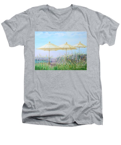 Lazy Days Of Summer Men's V-Neck T-Shirt by Barbara Anna Knauf