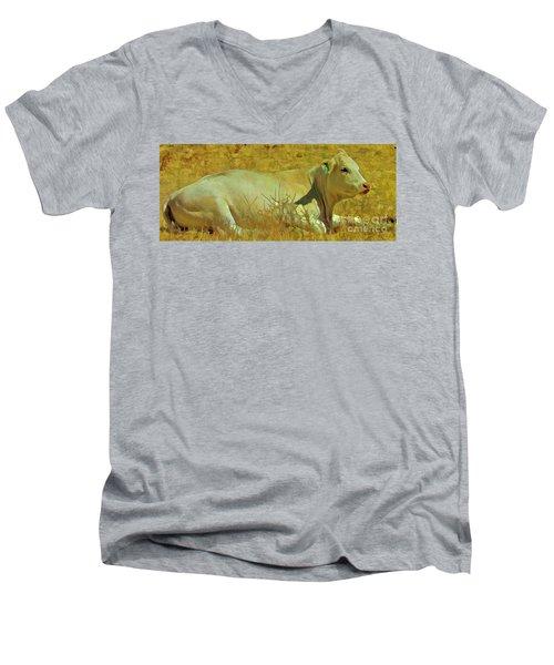 Lazy Daze Men's V-Neck T-Shirt