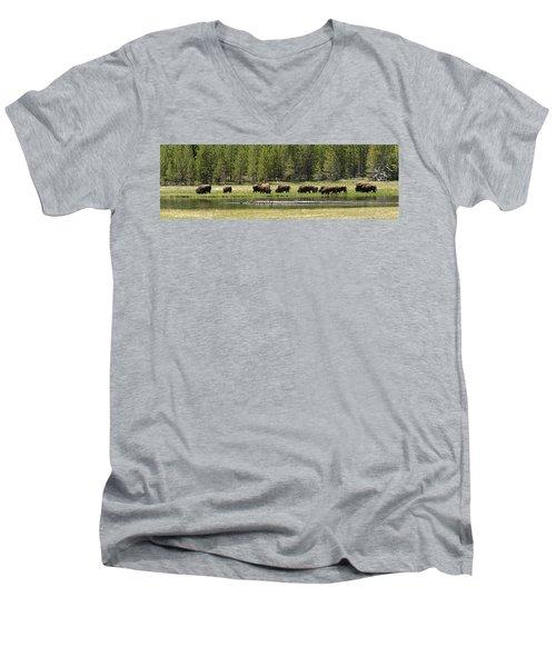 Lazy Morning Men's V-Neck T-Shirt