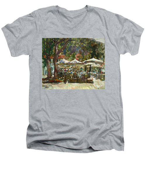Lazy Morning Men's V-Neck T-Shirt