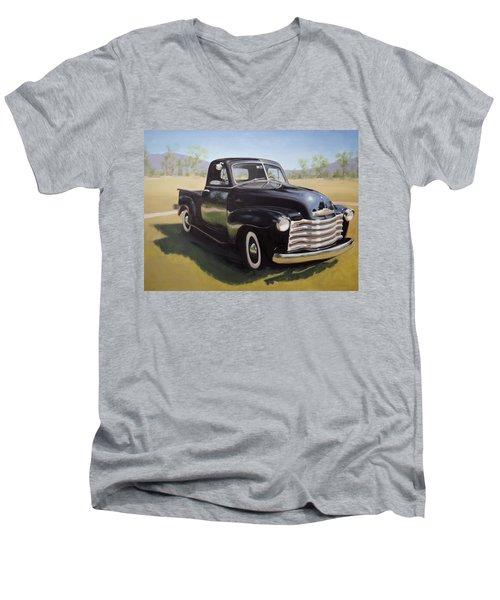 Le Camion Noir Men's V-Neck T-Shirt
