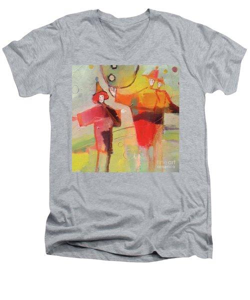 Le Cirque Men's V-Neck T-Shirt