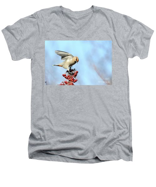 Le Jaseur Acrobate. Men's V-Neck T-Shirt