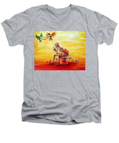 Le Tub Iv Men's V-Neck T-Shirt
