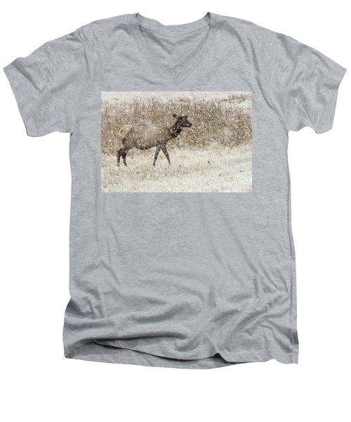 Lead Cow Men's V-Neck T-Shirt