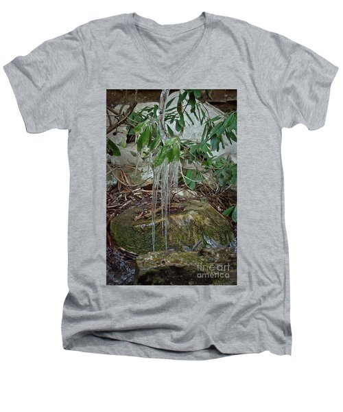 Leaf Drippings Men's V-Neck T-Shirt