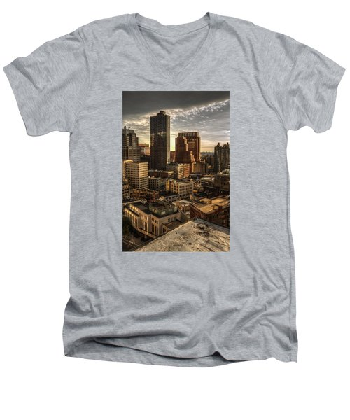 Leap Of Faith Men's V-Neck T-Shirt