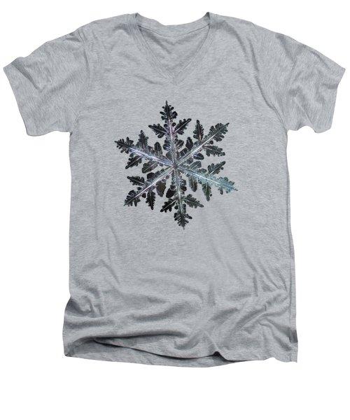 Leaves Of Ice II Men's V-Neck T-Shirt