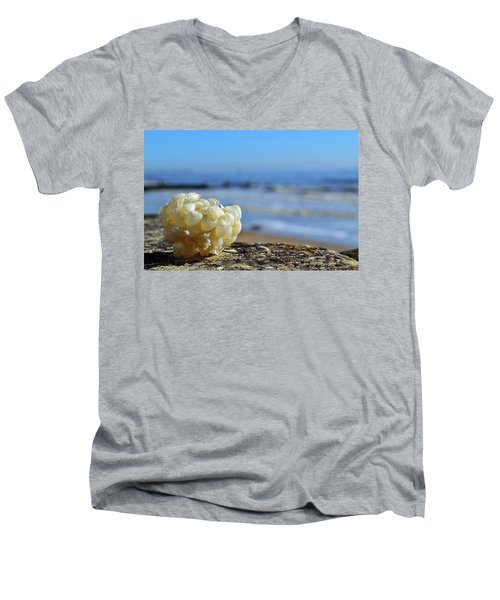 Left By The Tide Men's V-Neck T-Shirt