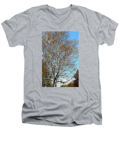 Leftover Men's V-Neck T-Shirt by Jana E Provenzano