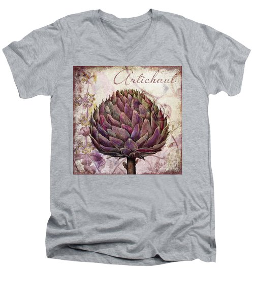 Legumes Francais Artichoke Men's V-Neck T-Shirt
