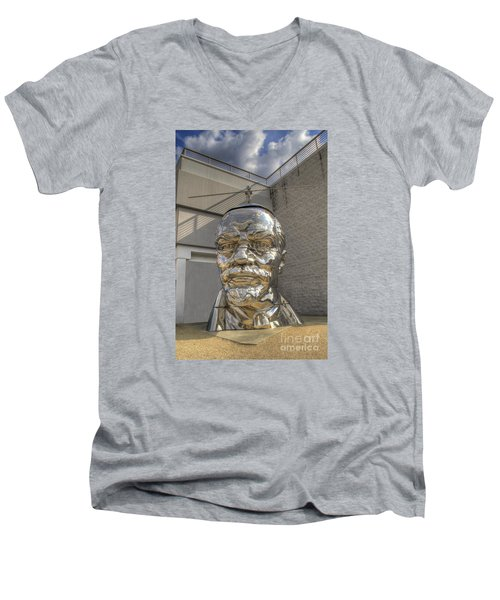 Lenin On La Brea Men's V-Neck T-Shirt