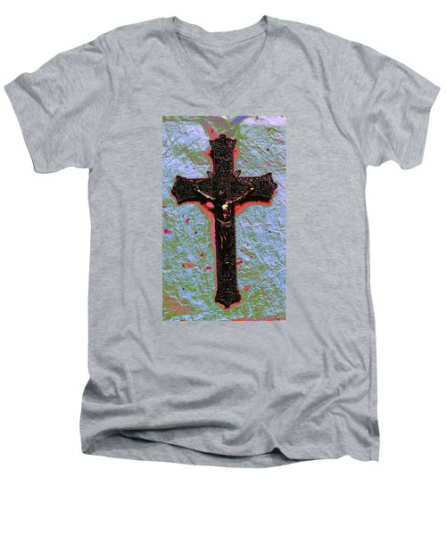 Lent Men's V-Neck T-Shirt
