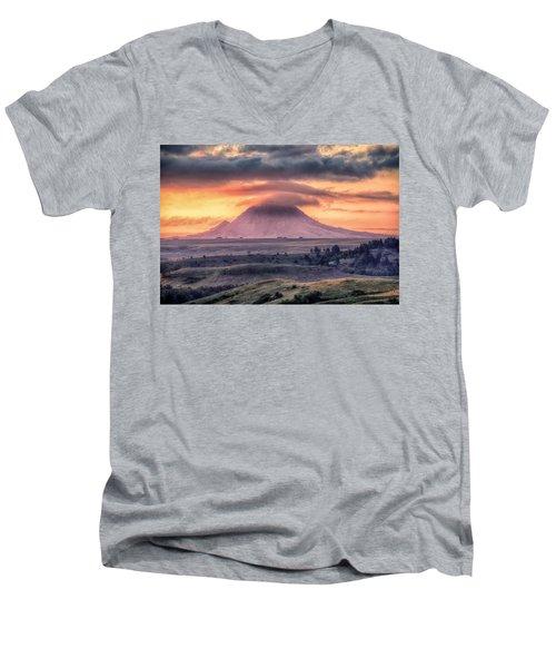 Lenticular Men's V-Neck T-Shirt