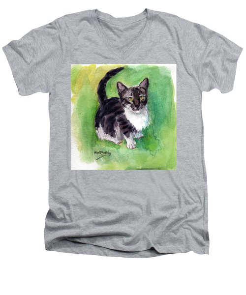 Leo Men's V-Neck T-Shirt