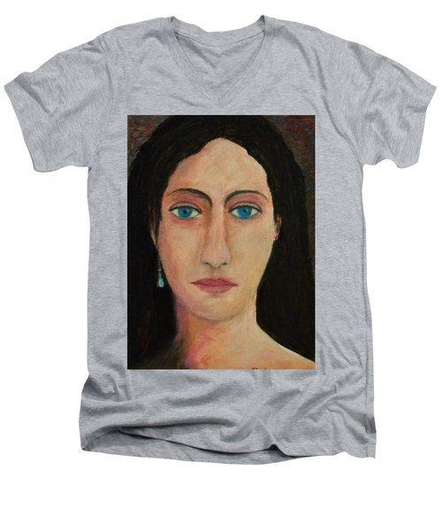 Leonora Men's V-Neck T-Shirt
