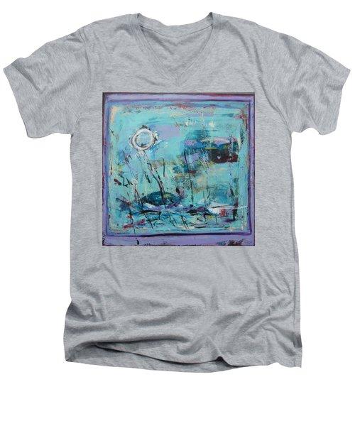 Les Sauterelles S'endorment Men's V-Neck T-Shirt