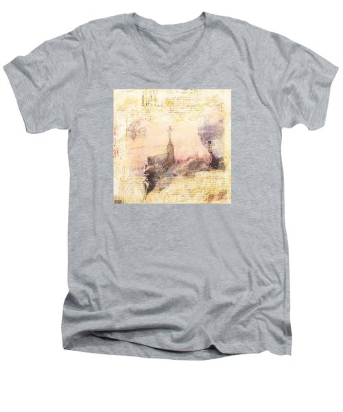 Let It Be Men's V-Neck T-Shirt