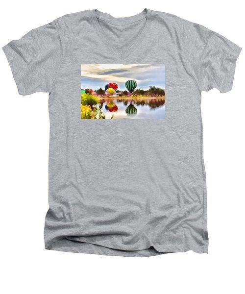 Let Your Heart Soar Men's V-Neck T-Shirt