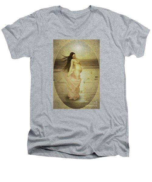 Let Your Soul And Spirit Fly Men's V-Neck T-Shirt