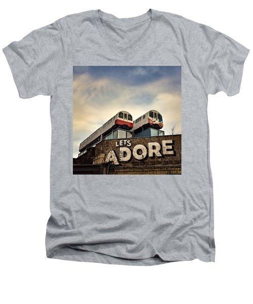 Lets Adore Shoreditch Men's V-Neck T-Shirt