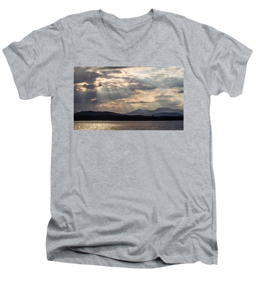 Let's Get Lost Men's V-Neck T-Shirt