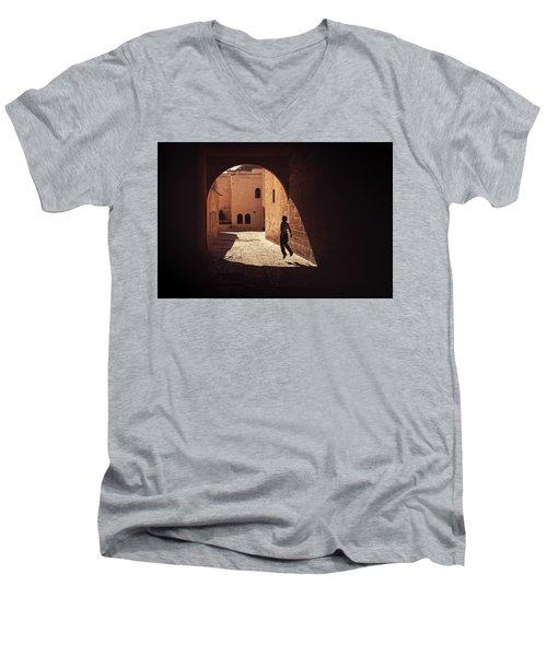 Levitate Men's V-Neck T-Shirt