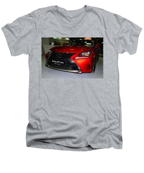 Lexus Rc Turbo Men's V-Neck T-Shirt