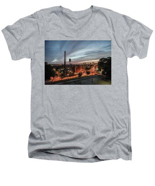 Libby Hill Post Sunset Men's V-Neck T-Shirt
