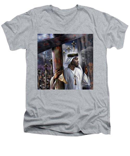Liberation Beyond Comprehension2 Men's V-Neck T-Shirt
