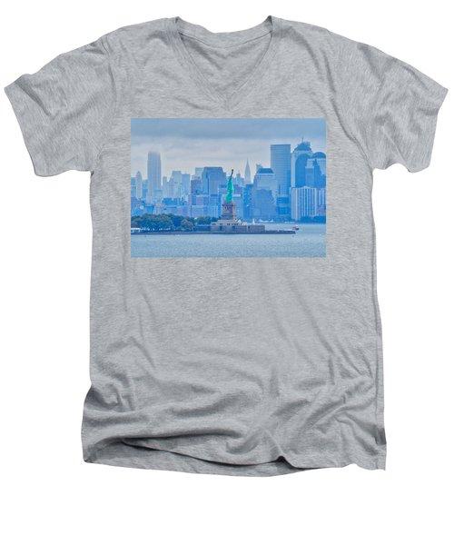 Liberty For All Men's V-Neck T-Shirt