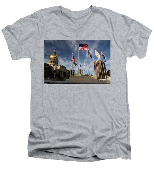 Liberty Plaza Men's V-Neck T-Shirt