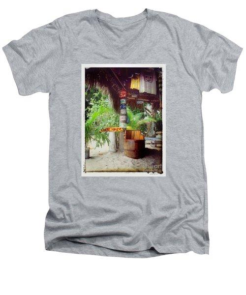 License To Drink Men's V-Neck T-Shirt