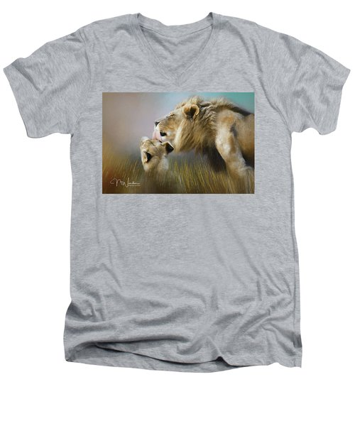 Lick Of Love Men's V-Neck T-Shirt