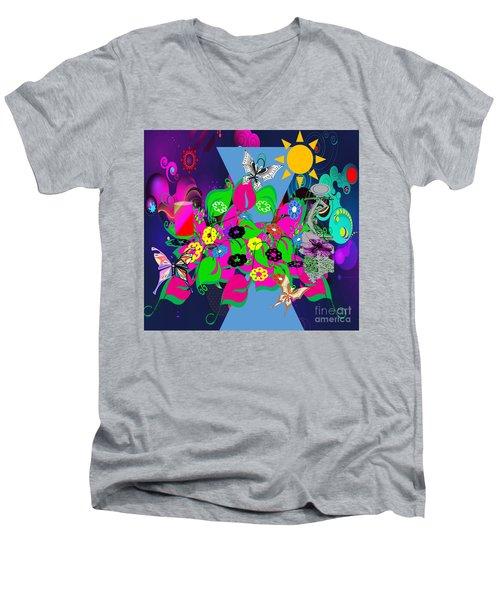 Life Full Of Experiences Men's V-Neck T-Shirt