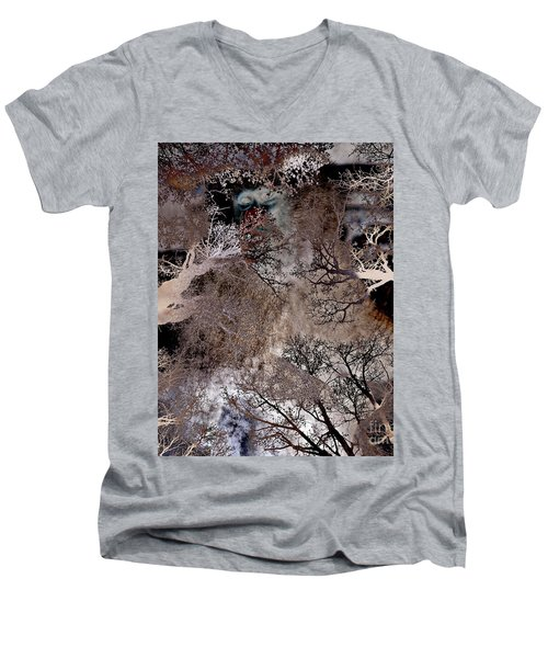 Life In A Bush Of Ghosts Men's V-Neck T-Shirt