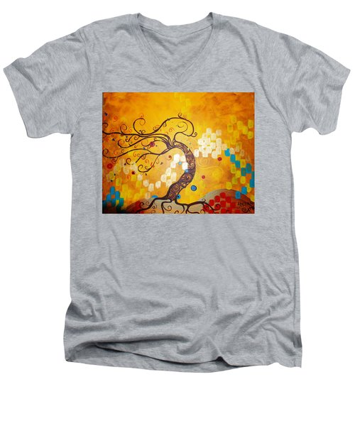 Life Is A Ball Men's V-Neck T-Shirt