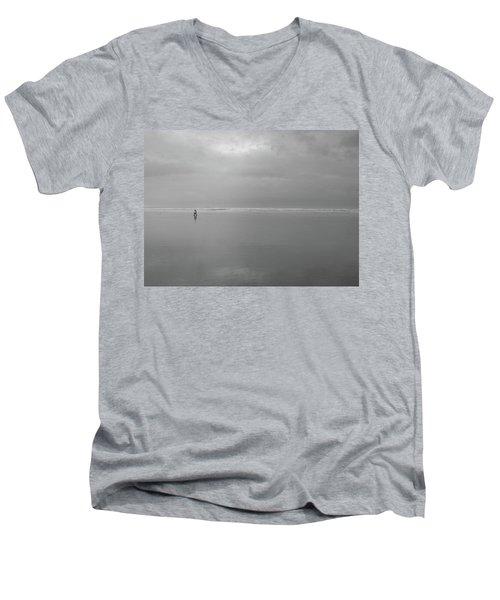 Life Is A Beach Men's V-Neck T-Shirt by Suzy Piatt