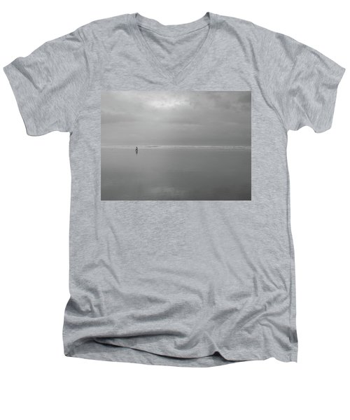 Life Is A Beach Men's V-Neck T-Shirt
