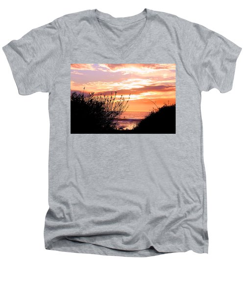 Life Is A Silhouette Men's V-Neck T-Shirt