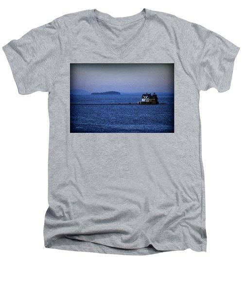 Life Of Solitude Men's V-Neck T-Shirt